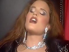 BDSM, Blowjob, Boobless, Brunette, European, HD, Latex, Redhead, Rough, Tania Russof,