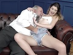 Couple, Cum, Curly, Long Hair, Old, Shorts, Slim, Teen, Young,
