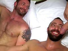 Bareback, Big Cock, Blue Eyed, Group Sex, Hunk,