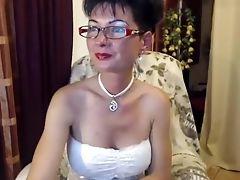 Mature, Solo, Webcam,