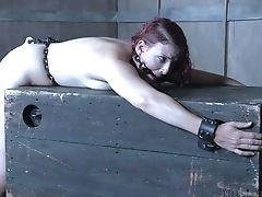Abuse, Babe, BDSM, Bondage, Curvy, Fetish, Redhead, Spanking, Submissive,