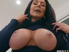 Couple, Cum On Tits, Cumshot, Curvy, Facial, Hardcore, Housewife, Kendra Lust, Long Hair, MILF,