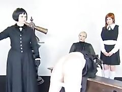 Caning, Russian, Spanking,