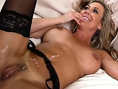 Blonde, Brandi Love, Escort, Hardcore, MILF, Money, Shower, Wife,