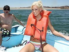 Beach, Blonde, Boobless, Kacey Jordan, Nature, Pussy, Teen,