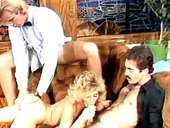 Ginger Lynn, Group Sex, Orgy, Party, Retro,