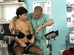 Boobless, Clinic, Doctor, Lingerie, Piercing, Polish, Stockings,