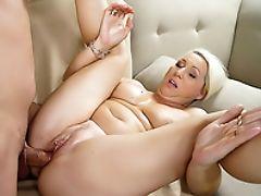 Big Tits, Blonde, Blowjob, Cumshot, Facial, Fingering, Granny, Hardcore, HD, Mature,
