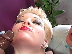 Arsch, Große Natürliche Titten, Schwarz, Blond, Blowjob, Bh, Candy Monroe, Cowgirl, Cuckold, Sperma,