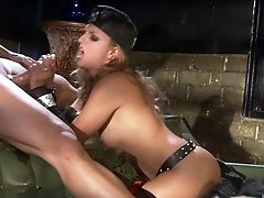 Blonde, Blowjob, Close Up, Couple, Extreme, Fishnet, Hardcore, Lexi Love, Licking, Missionary,