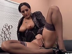 Anal Sex, Ava Addams, Big Tits, Brunette, French, Hardcore, HD, MILF, Natural Tits, Office,