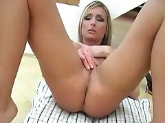 Blonde, Bold, Fingering, Fishnet, Gorgeous, Masturbation, Model, Solo, Ugly, Wet,