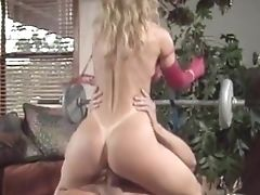 Blonde, Cumshot, Hardcore, Nina Hartley, Pornstar, Vintage,