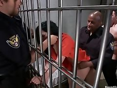 Angell Summers, Double Penetration, French, Gangbang, Jail,