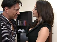 Big Cock, Blowjob, Brunette, Chanel Preston, Cute, Dick, Fat, Hardcore, Naughty, Office,