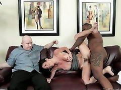 Beauty, Big Black Cock, Big Cock, Black, Brunette, Brutal, Cuckold, Cute, Hardcore, Horny,