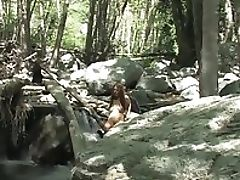 Amateur, Babe, Big Tits, Brunette, Homemade, Horny, Jerking, Masturbation, Outdoor, Solo,