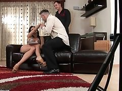 Aletta Ocean, Anal Sex, Babe, Backstage, Big Tits, Blowjob, Brunette, Double Penetration, Fake Tits, Mmf,
