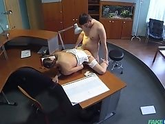 Babe, Blowjob, Brunette, Doctor, Doggystyle, Fucking, Hardcore, Hidden Cam, High Heels, Missionary,