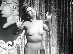 Babe, Big Tits, Classic, Retro, Striptease, Vintage,