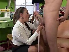 Blowjob, Brunette, Fetish, Hardcore, HD, Kinky, MILF, Slut, Stockings,