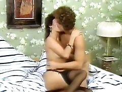 Bedroom, Brunette, Classic, Dick, MILF, Retro, Skinny, Vintage,