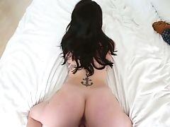 Bold, Brunette, Dick, Hardcore, Riding, Tattoo,