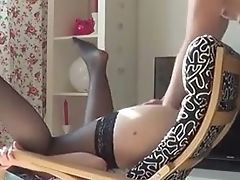 Fisting, Flexible, Slut, Stockings, Teen, Vagina,