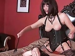 Ass, BDSM, Boots, Brunette, Cigarette, Close Up, Corset, Domination, Femdom, Fucking,