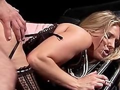 Blonde, Blowjob, Corset, Doggystyle, Facial, Freckled, HD, Lingerie, Natural Tits, Riding,