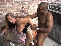 Amber Lynn Bach, Ass, BBW, Big Black Cock, Big Cock, Big Tits, Black, Blonde, Blowjob, Boots,