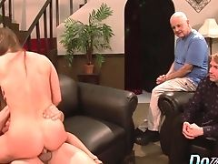 Ass, Cathy Heaven, Clamp, Couple, Cuckold, Cumshot, Cute, Doggystyle, Face Fucking, Fingering,