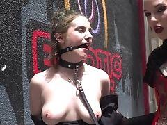 Anal Beads, Ass, Babe, Big Tits, Brunette, Femdom, Flashing, HD, Lesbian, Mistress,