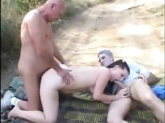 Boobless, Cousin, HD, Old, Outdoor, Pissing, Skinny, Teen, Threesome, Young,