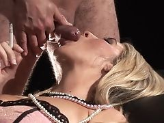Amateur, Blonde, Blowjob, Cigarette, Cum In Mouth, Cumshot, Facial, Fetish, HD, Juicy,