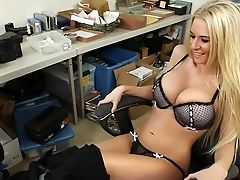 Babe, Big Tits, Blonde, Cute, Dick, Fat, From Behind, Hardcore, Licking, Lingerie,