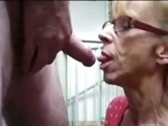 Blonde, Blowjob, Dick, Felching, Granny, Mature, Nerd, Whore,