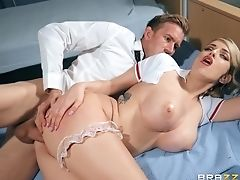Blowjob, Horny, Hospital, MILF, Nurse, Pornstar, Uniform, Worship,