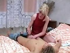 Bareback, Blonde, Blowjob, Crossdressing, Massage,