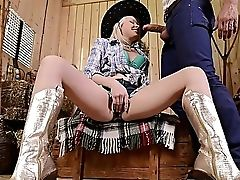 Ass, Big Cock, Big Tits, Blonde, Boots, Bra, Clothed Sex, Country, Cowgirl, Cunt,