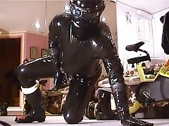 Biker, Retro, Rubber,