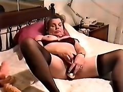 Amateur, Exotic, Masturbation, Mature, Sex Toys, Solo, Stockings,