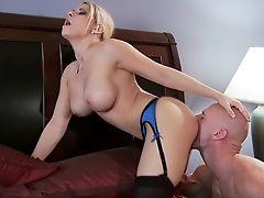 Big Tits, Blonde, Condom, Creampie, German, HD, Madison Ivy, Reality, Slut, Whore,