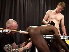 Black, Bondage, Group Sex,