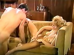 Big Tits, Blonde, Blowjob, Couch, Dick, Fuckdoll, Licking, Retro, Vintage,