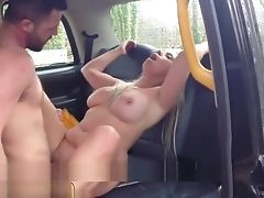 Big Cock, Big Tits, MILF, Outdoor, Taxi,