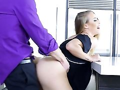 Ass, Big Natural Tits, Big Nipples, Big Tits, Blonde, HD, Maid, Nicole Aniston, Uniform, Worship,