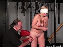 BDSM, Bondage, Cage, Chubby, HD, Kinky, Masie Dee, Rough, Whore,