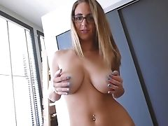 Amateur, Beauty, Bedroom, Big Tits, Blowjob, Cowgirl, Doggystyle, HD, Homemade, Natural Tits,