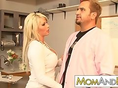 Blonde, Brooke Haven, Couple, Doctor, Librarian, Long Hair, MILF, Pornstar,